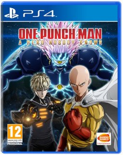 Диск One Punch Man: A Hero Nobody Knows [PS4]