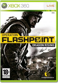 Диск Operation Flashpoint Dragon Rising [X360]