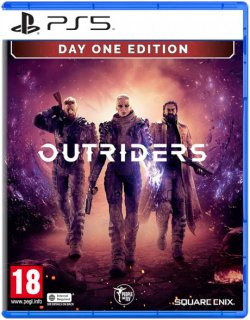Диск Outriders (Б/У) [PS5]
