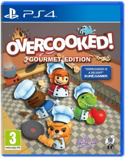 Диск Overcooked - Gourmet Edition [PS4]