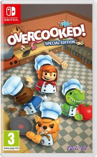 Диск Overcooked: Special Edition [NSwitch]