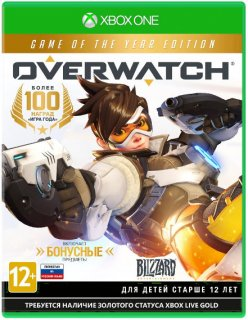 Диск Overwatch G.O.T.Y. [Xbox One]