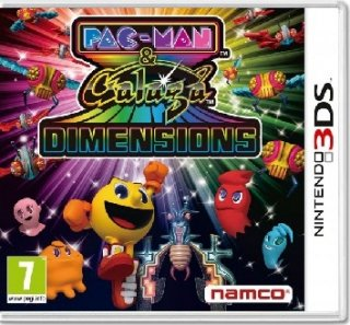 Диск PAC-MAN & Galaga Dimensions [3DS]