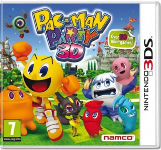 Диск Pac-Man party 3D (Б/У) [3DS]