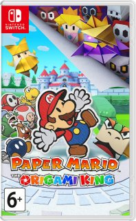Диск Paper Mario: The Origami King [NSwitch]
