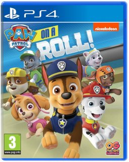 Диск PAW Patrol: On a Roll [PS4]