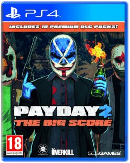 Диск Payday 2 The Big Score [PS4]