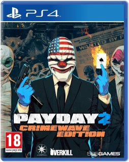 Диск Payday 2 Crimewave Edition [PS4]