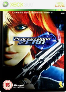 Диск Perfect Dark Zero - Limited Edition (Б/У) [X360]