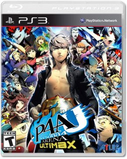 Диск Persona 4 Arena: Ultimax (US) (Б/У) [PS3]