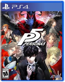 Диск Persona 5 (US) [PS4]
