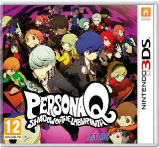 Диск Persona Q: Shadow of The Labyrinth (Б/У) [3DS]