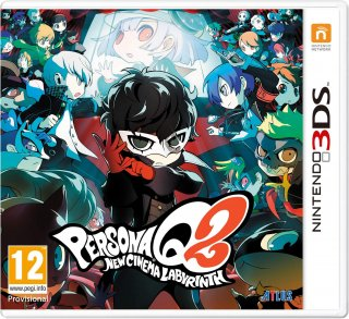 Диск Persona Q2: New Cinema Labyrinth [3DS]