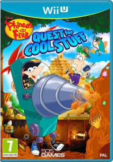 Диск Phineas and Ferb: Quest for Cool Stuff [Wii U]