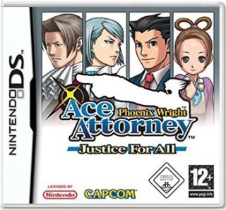 Диск Phoenix Wright: Ace Attorney Justice for All (Б/У) [DS]