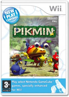 Диск Pikmin: New Play Control [Wii]