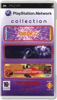 Диск PlayStation Network Collection - Power Pack [PSP]