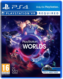 Диск PlayStation VR Worlds [PSVR]
