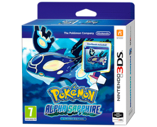 Диск Pokemon Alpha Sapphire - Limited Edition [3DS]