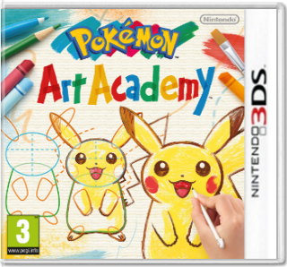Диск Pokemon Art Academy (Б/У) [3DS]