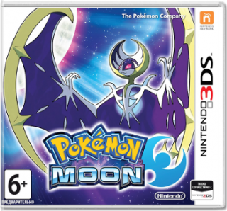 Диск Pokemon Moon (Б/У) [3DS]