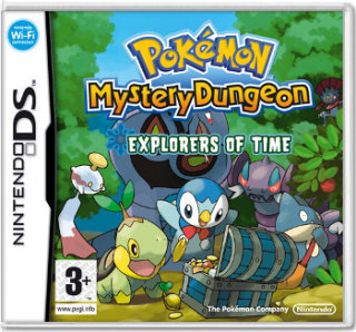 Диск Pokemon Mystery Dungeon: Explorers of Time [DS]