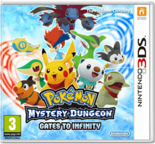 Диск Pokemon Mystery Dungeon Gates to Infinity [3DS]
