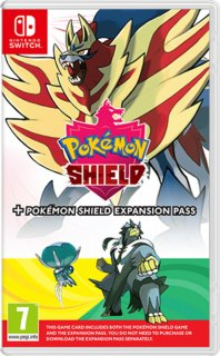 Диск Pokemon Shield + Expansion Pass [NSwitch]