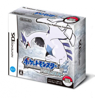 Диск Pokemon SoulSilver + Poke Walker [DS]