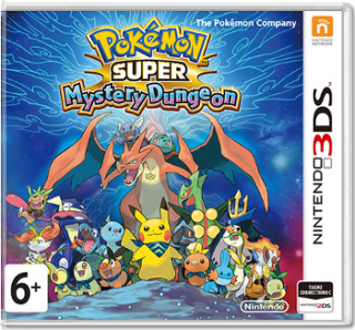 Диск Pokemon Super Mystery Dungeon [3DS]