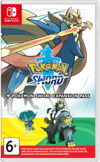 Диск Pokemon Sword + Expansion Pass [NSwitch]
