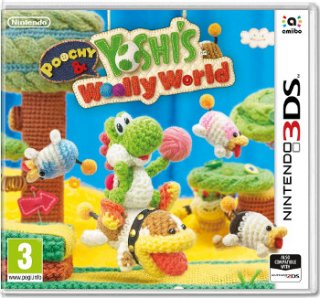 Диск Poochy & Yoshi's Woolly World [3DS]