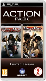 Диск Prince of Persia: Revelations + Prince of Persia: Rival Swords [PSP]