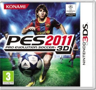 Диск Pro Evolution Soccer 2011 [3DS]