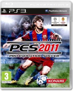 Диск Pro Evolution Soccer 2011 [PS3]