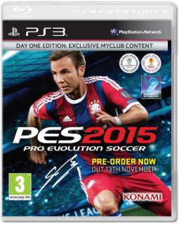 Диск Pro Evolution Soccer 2015 - Day One Edition [PS3]