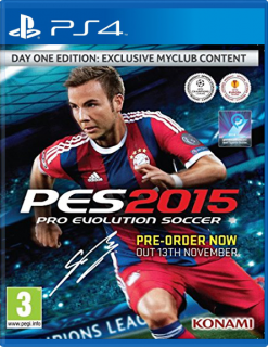 Диск Pro Evolution Soccer 2015 - Day One Edition [PS4]