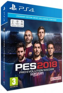 Диск Pro Evolution Soccer 2018 [PS4] Legendary Edition