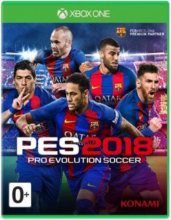 Диск Pro Evolution Soccer 2018 [Xbox One]