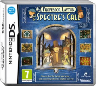 Диск Professor Layton and the Spectre's Call [DS]