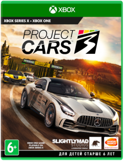 Диск Project Cars 3 [Xbox One]