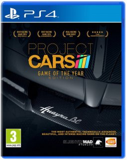 Диск Project Cars - G.O.T.Y. [PS4]