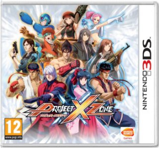 Диск Project X Zone [3DS]