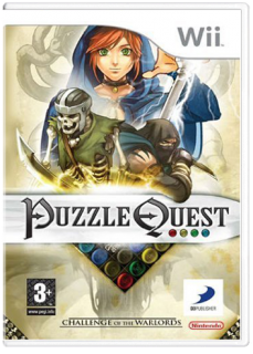 Диск Puzzle Quest: Challenge of the Warlords [Wii]