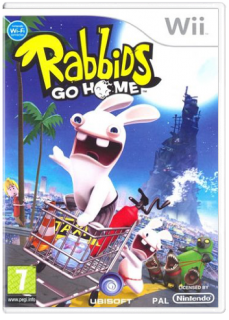 Диск Rabbids Go Home [Wii]