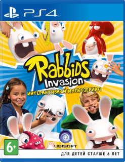 Диск Rabbids Invasion [PS4]