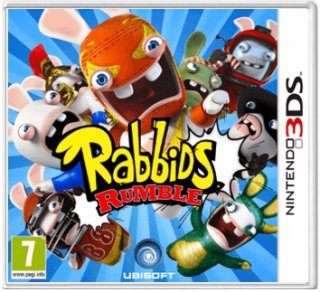Диск Rabbids Rumble (Б/У) [3DS]