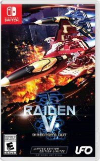 Диск Raiden V: Director's Cut - Limited Edition (Б/У) [NSwitch]