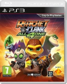 Диск Ratchet & Clank: All 4 One [PS3]