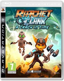 Диск Ratchet & Clank: A Crack in Time (Б/У) [PS3]